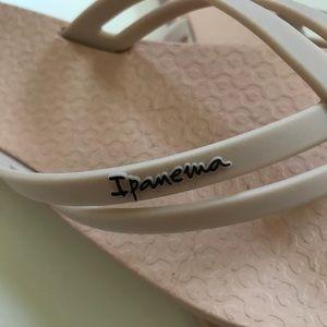 "e7d8ba3b084176 Ipanema Shoes - Ipanema ""Hashtag"" Blush Pink Flip Flop Sandals"